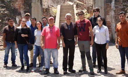 Investigadores de la UJA realizan actividades de reconstrucción virtual 3D del patrimonio cultural en Guatemala