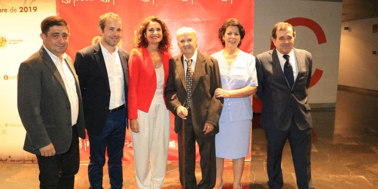 Montero llama desde Jaén a votar el 10 de noviembre pese al enfado: «Es necesario un Gobierno fuerte y progresista»