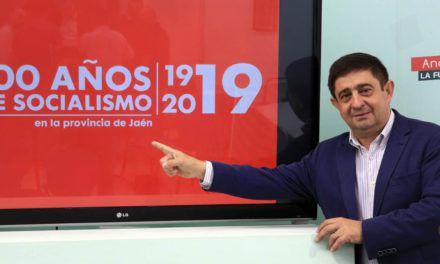 El PSOE de Jaén conmemora su Centenario en un acto con Pedro Sánchez