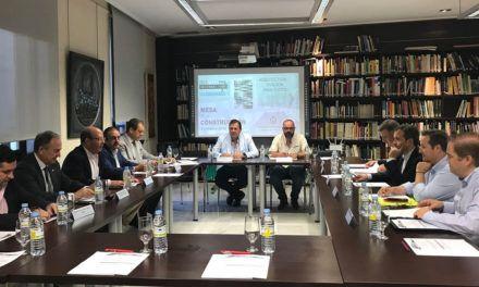 Se reúne la Mesa del sector de la Construcción de Jaén