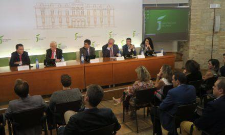 Diputación acoge unas jornadas para profesionales de la justicia cuyos beneficios se destinarán a Mensajeros de la Paz