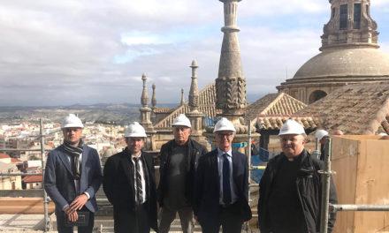 El ministro de Cultura anuncia más obras para la restauración de todas las cubiertas de la Catedral