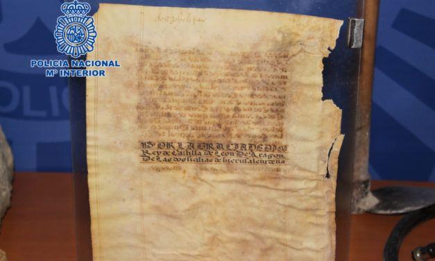 La 'Operación Fauno' golpea el expolio del Patrimonio Histórico en Jaén