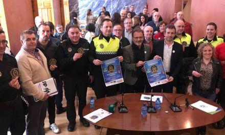 """La Policía Local se vuelca con la Federación Jaén Inclusiva y lanza su campaña de """"Escudos Solidarios"""" en apoyo a la integración en la infancia"""