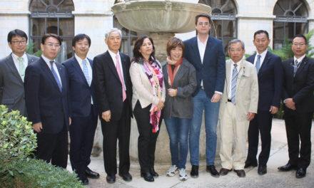 Diputados japoneses conocen la calidad del AOVE jiennense y la oferta de oleoturismo de la provincia