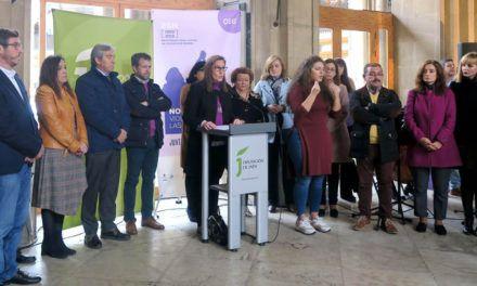 """La Diputación reivindica """"que no se dé ni un paso atrás"""" en la lucha contra la violencia de género"""