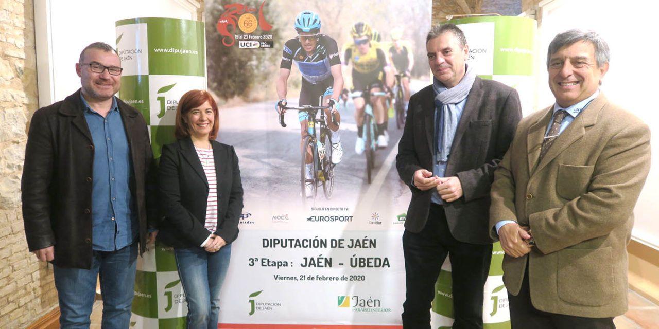 La provincia de Jaén será el escenario de la etapa reina de la 66ª Vuelta Ciclista a Andalucía
