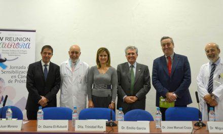 Jaén acoge la V Reunión AURORA sobre sensibilización en cáncer de próstata