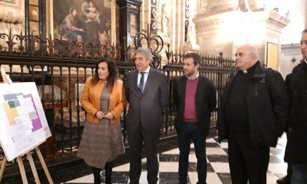 Las obras de la Catedral de Jaén implicarán la instalación de un toldo de grandes dimensiones