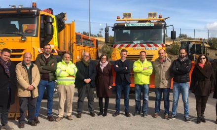 105 operarios y 39 vehículos se movilizan para la seguridad de las carreteras jiennenses en invierno