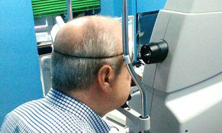 El SAS realiza retinografías a pacientes con diabetes para prevenir una posible ceguera
