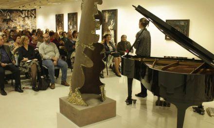 Concierto de piano en la antigua Escuela de Magisterio de Jaén en torno a la obra de Juan Moral