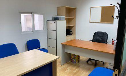 El IMEFE pone a disposición de emprendedores jiennenses seis despachos destinados al desarrollo de actividades profesionales o empresariales