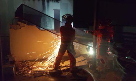 TEMPORAL | Bomberos de Jaén realizan más de 40 intervenciones en menos de 48 horas por los efectos de la lluvia y el fuerte viento