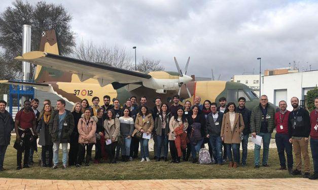 Alumnado del Máster MBA de la UJA visitó la planta de Airbus en Tablada (Sevilla)