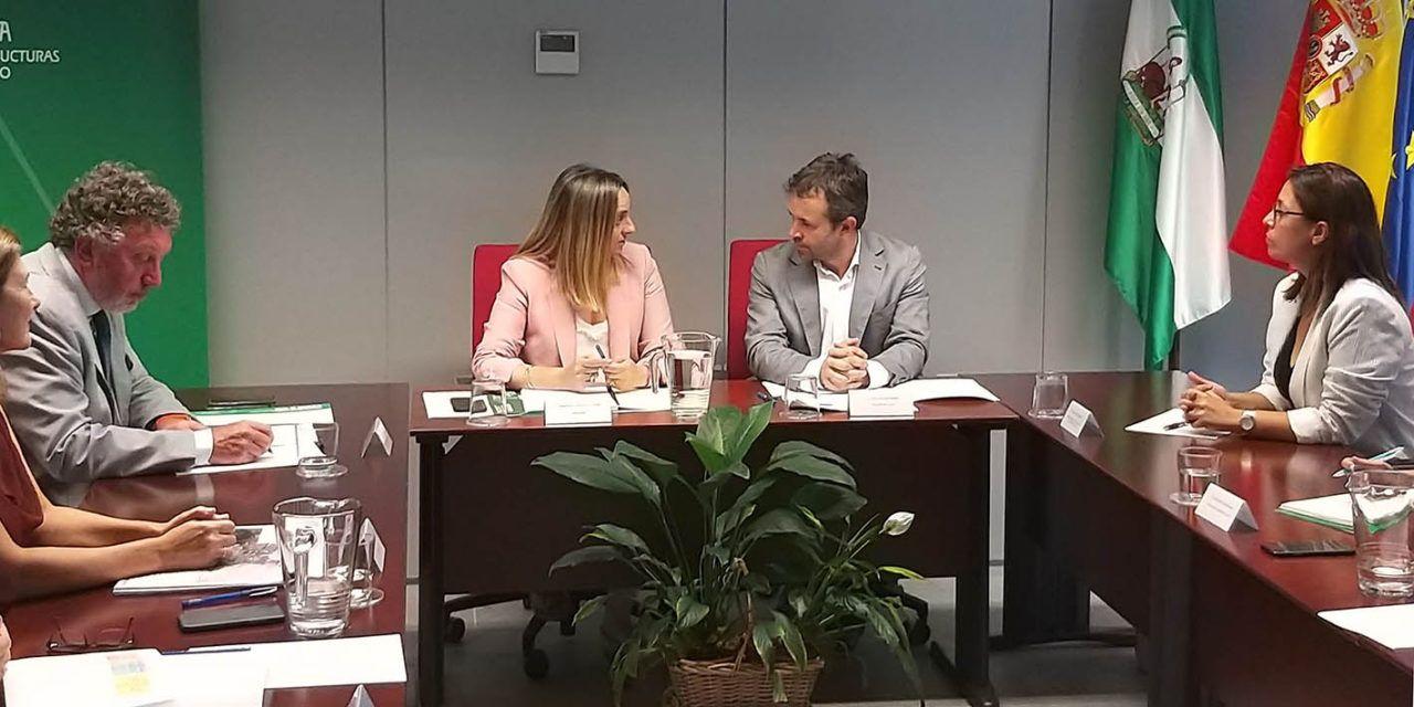 La Junta remite al Ayuntamiento de Jaén el borrador del convenio del tranvía