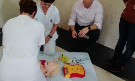El Hospital de Jaén forma a 90 profesionales en reanimación cardiorespiratoria
