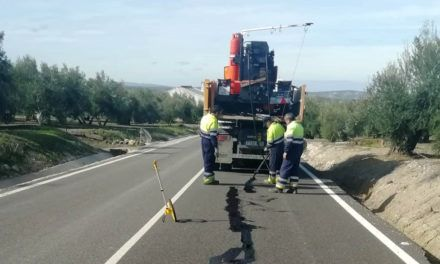 La Junta mejora la seguridad vial de su red en Martos