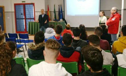 El IMEFE imparte un taller de motivación y fomento del emprendimiento al alumnado del IES Santa Teresa de la capital