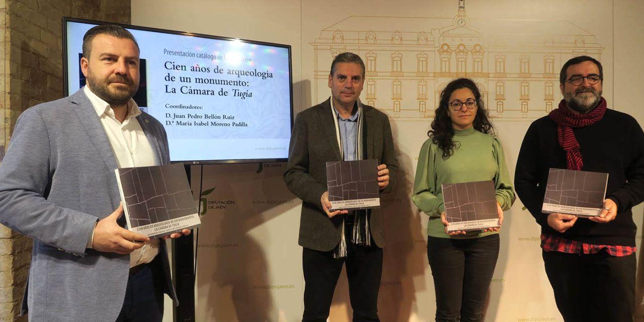 Un libro editado por el IEG de la Diputación pone al descubierto los secretos de la Cámara Sepulcral de Toya