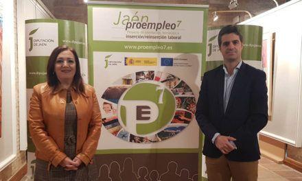 La Diputación y el Gobierno de España destinan 7,3 millones de euros al programa de inserción laboral Proempleo 7