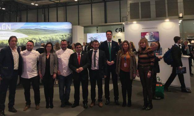 La provincia de Jaén se promociona en Fitur con más de 30 presentaciones y la participación de más de 650 empresarios