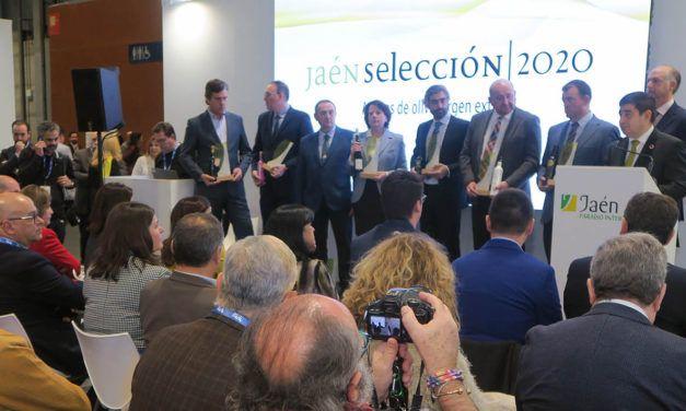 Los AOVE Jaén Selección 2020 se presentan en Fitur como abanderados de la calidad de los aceites jiennenses