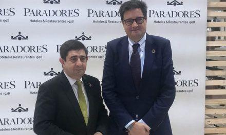 El director de Paradores confirma al presidente de Diputación que la reapertura del Parador de Jaén tendrá lugar en marzo
