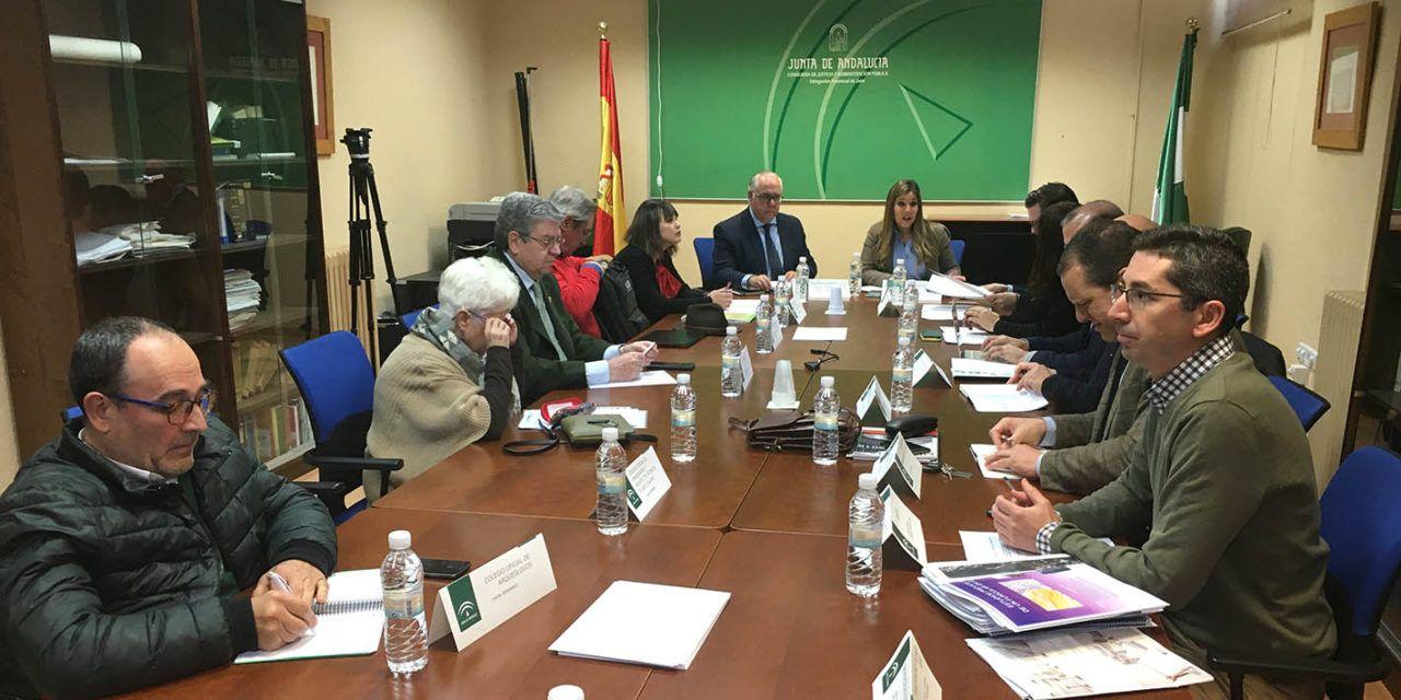 Las mesas técnicas de la ITI de Jaén completan una nueva sesión de trabajo para impulsar proyectos