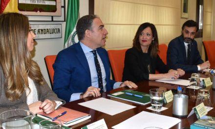 Elías Bendodo insta a trabajar sin descanso para ejecutar todas las inversiones que se contemplan en el Presupuesto de Andalucía para Jaén