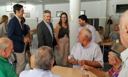 La Junta destina 54.932 euros para el refuerzo de personal en dependencia en el Ayuntamiento de Martos