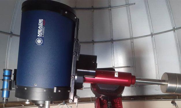 El Observatorio Astronómico de la UJA, acreditado por su capacidad para la obtención de medidas astrométricas de cuerpos celestes