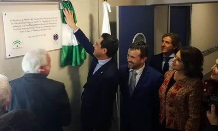 Juanma Moreno inaugura la Residencia de Mayores del Colegio Oficial de Enfermería de Jaén