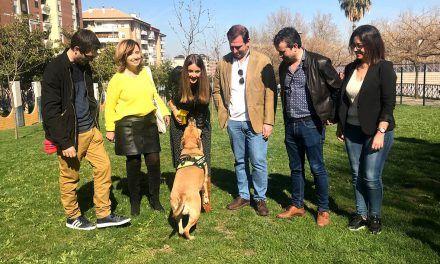 Inaugurado en el Bulevar el primer parque canino adaptado de Jaén