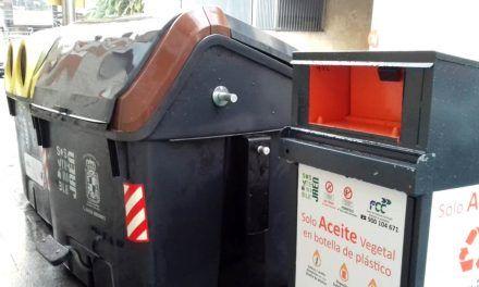 Jaén instala 29 depósitos más para la recogida de aceite vegetal usado