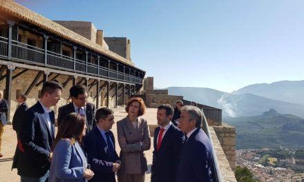 Reyes confía en que la próxima reapertura del Parador de Jaén incremente el número de turistas en la provincia en 2020