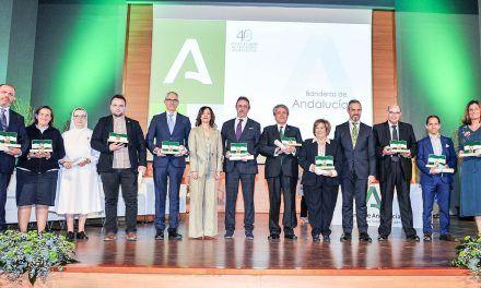 """Entregados los premios """"Bandera de Andalucía"""" en Jaén"""
