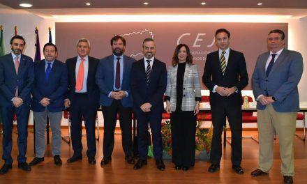 Encuentro entre el Consejero Juan Bravo y la Confederación de Empresarios de Jaén (CEJ)