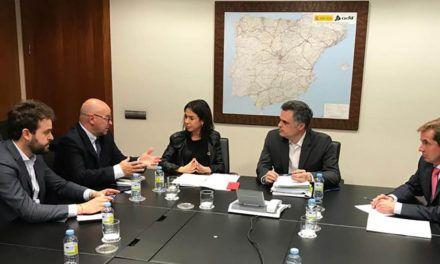 El Grupo Parlamentario Socialista de Jaén se reúne con responsables de ADIF