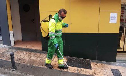 Jaén aumenta la frecuencia de las labores de limpieza
