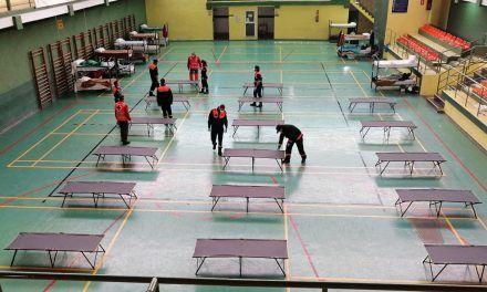CRISIS CORONAVIRUS | Jaén habilita una ampliación del centro de transeúntes en las instalaciones deportivas de La Salobreja