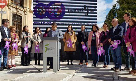 La Diputación de Jaén conmemora el Día Internacional de las Mujeres para reclamar la Igualdad Ya!