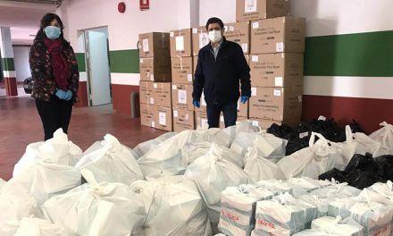 Diputación distribuye 100.000 mascarillas entre los 97 ayuntamientos de la provincia