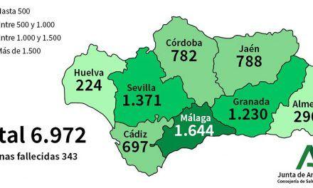 CRISIS CORONAVIRUS | La provincia de Jaén acumula 788 positivos por Covid-19