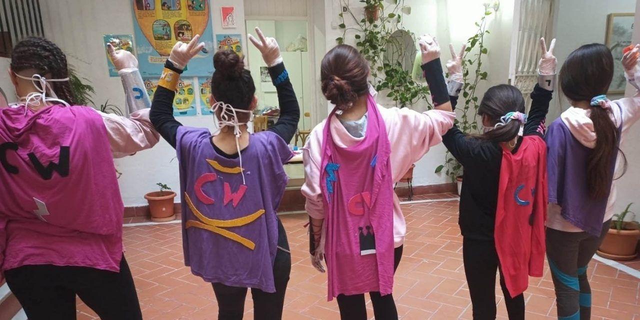 65 personas de los centros de acogida del IAM en la provincia han participado en el proyecto 'Covid Warriors' para afrontar el coronavirus