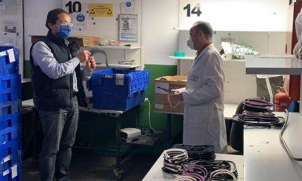 Los IES San Juan Bosco y Santa Teresa de Jaén se suma a la fabricación y distribución de material sanitario