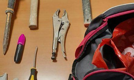 SUCESOS | Tres detenidos en Jaén por diversos robos