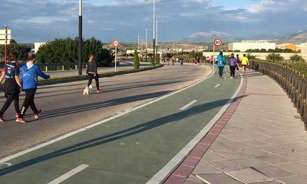 El Ayuntamiento destaca la buena acogida de los itinerarios peatonales para el paseo o deporte en Las Fuentezuelas y Bulevar