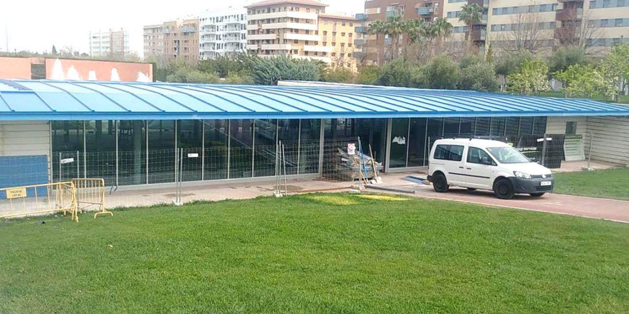Culminan las obras de las instalaciones del Parque Andrés de Vandelvira
