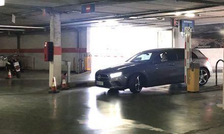 El aparcamiento Avenida registra unas 500 estancias gratuitas de sanitarios